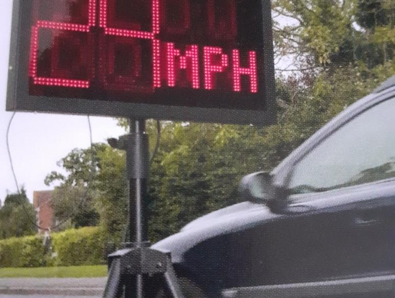 Speedwatch sign